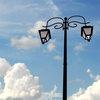 Торшеры-светильники: традиция в экстерьере