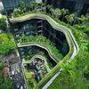 Отель-сад Parkroyal в Сингапуре.
