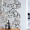 Декорирование стен - трафаретная роспись
