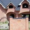 Фасады из кирпича-сырца