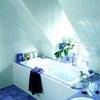Отделка потолка в ванной комнате стеновыми пластиковыми панелями
