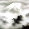 Японская живопись в этническом интерьере