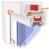 Пластиковые окна - клапаны «Регель-эйр» (Regel-Air)