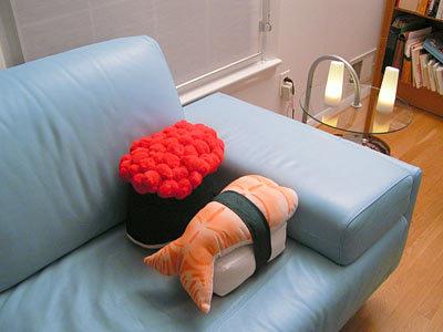 Подушки суши