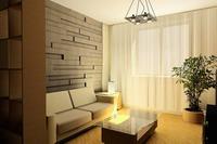 Мягкая спокойная цветовая гамма стен