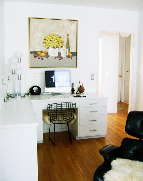 Идеи интересных интерьеров домашних офисов