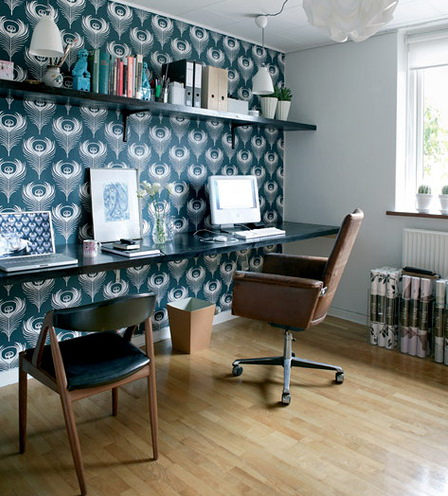 Домашний офис - идеи интерьеров домашних офисов