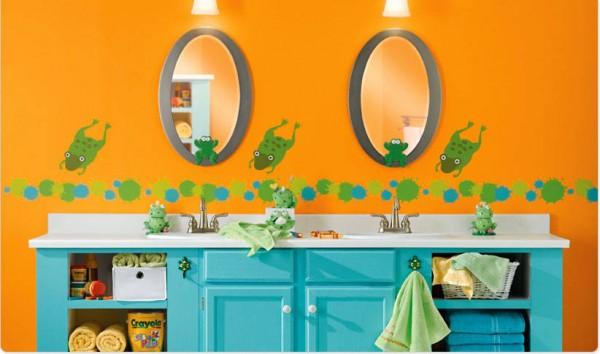 10 советов для оформления детской ванной.