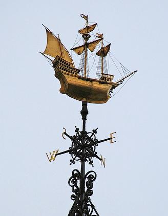Флюгер — корабль.
