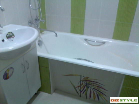 Как обустроить ванну (сделать ремонт) в хрущовке или маленькой ванной комнате.