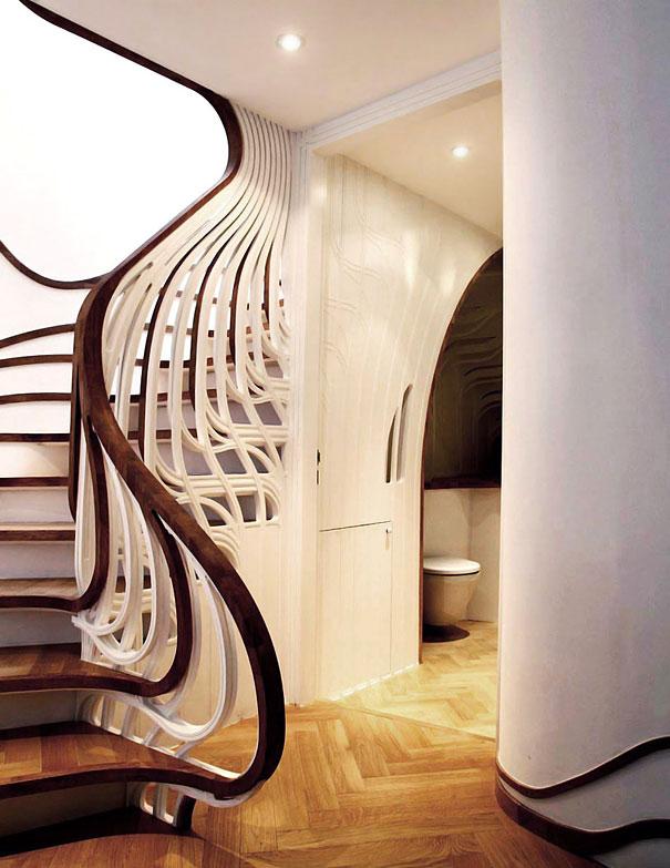 Дизайн лестниц и идеи