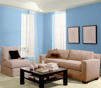 Синий цвет обладает удивительными успокаивающими свойствами