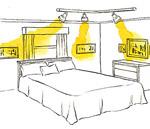 потолочные и настенные светильники