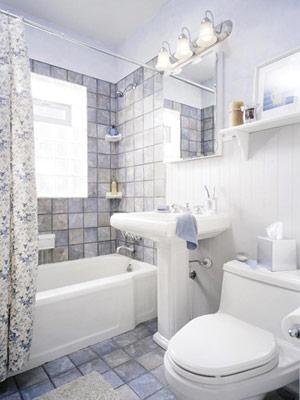 Маленькая ванная комната не беда 10