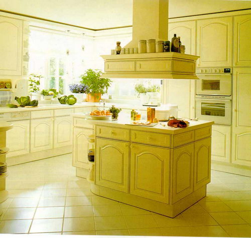 кухня полуостров и остров