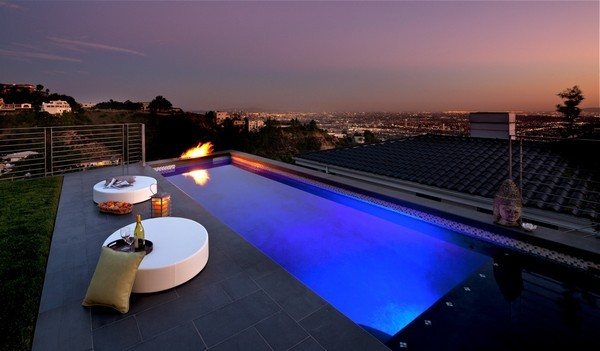 Бассейны как захватывающее зрелище - дизайн бассейнов.