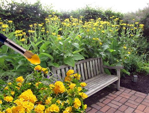 Желтый сад.