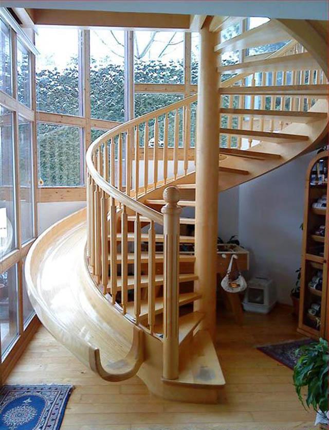 Веселая лестница.