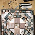 столик мозаика