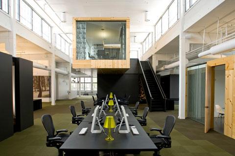 Необычные, интересные и странные офисы