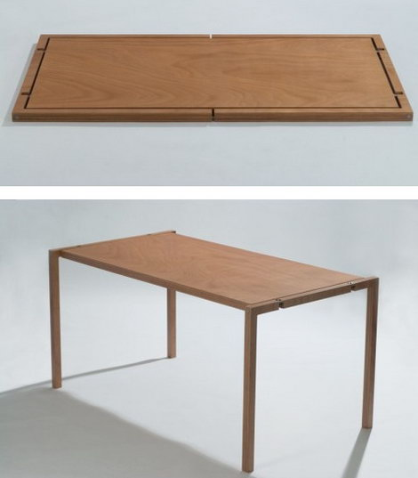 Стол в духе минимализма