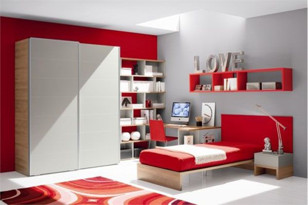 Оформление интерьера комнаты девочки-подростка