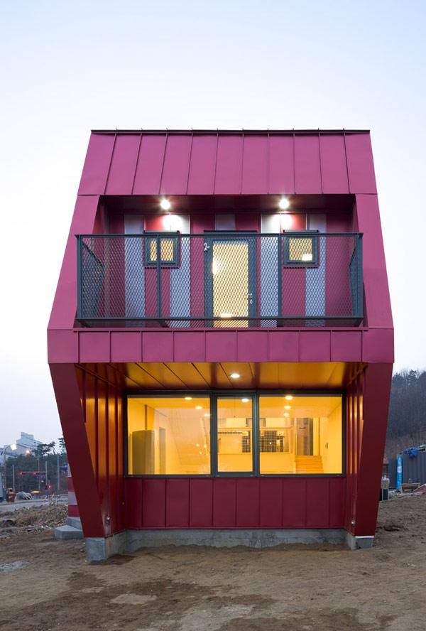 Дом для семьи в Южной Корее.