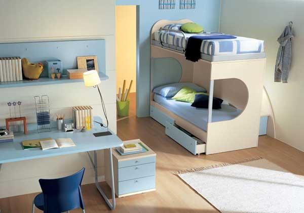 Дизайнерские идеи двухъярусных кроватей для детей.