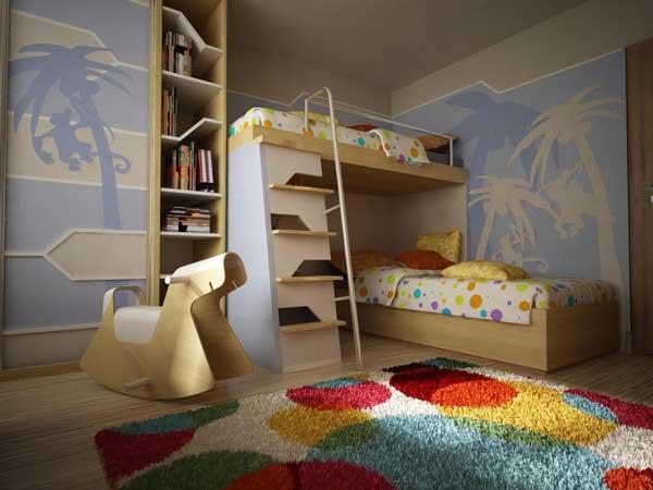 Идеи для двухъярусной кровати своими руками