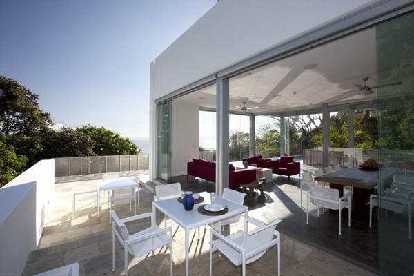 Дом в стиле модерн с собственным энергоснабжением