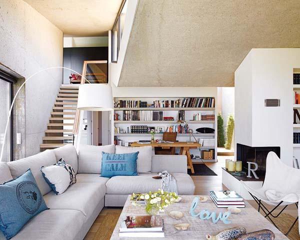 Интерьер дома в Испании от дизайнера Marta Esteve