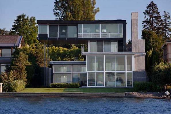 Дом Грэхем – современное слово в архитектуре.