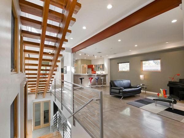 Проект дома в гармонии с окружающей средой.