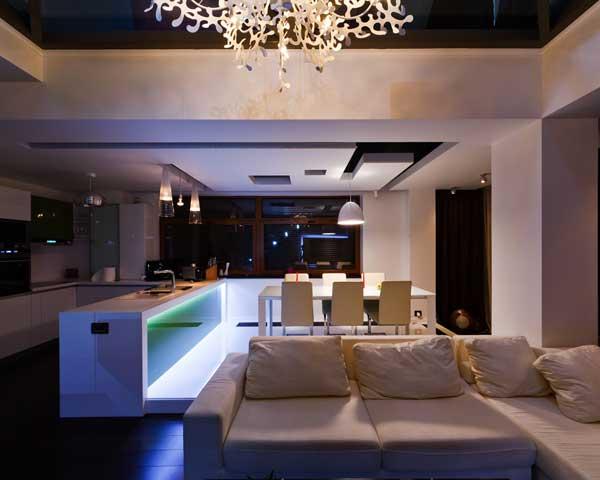 Апартаменты лофт от румынских дизайнеров.