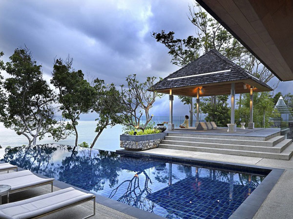 Тайский минимализм - Вилла на острове Пхукет.