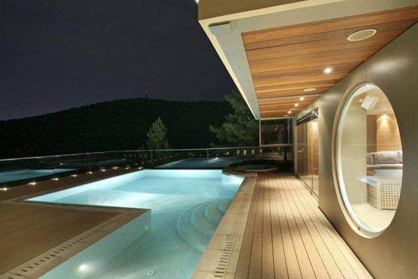 Вилла в современном стиле в Афинах.