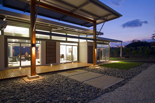 Экологически рациональный дом в Коста-Рике.