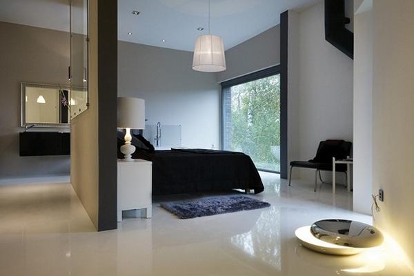 Вилла - современный проект дома из эксклюзивных материалов.