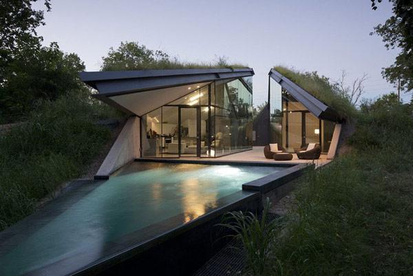 Дом с любовью к природе.