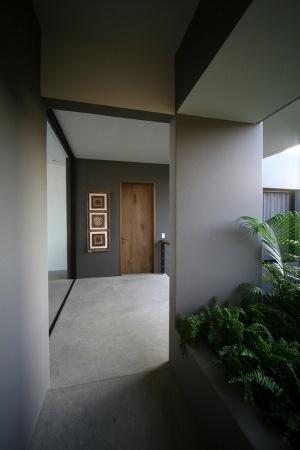 Пример дома с тихой гаванью и открытой планировкой.