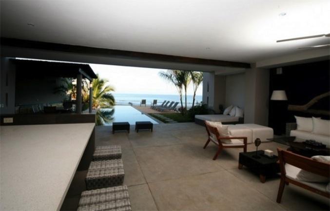 Дом с тихой гаванью и открытой планировкой.