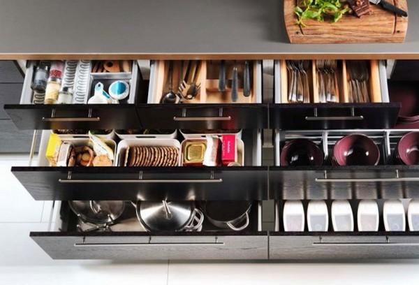 Идеи интерьеров от IKEA для небольшой кухни