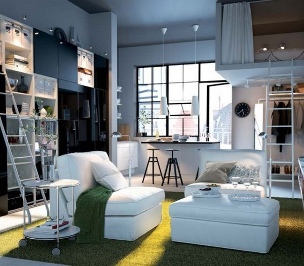 Идеи интерьеров от IKEA для небольшой гостиной