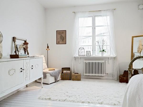 Интерьер однокомнатной квартиры в Скандинавии