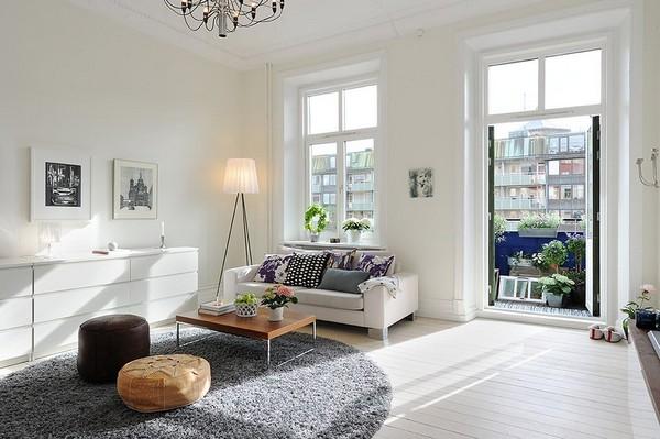 Дизайн квартиры в скандинавском стиле фото