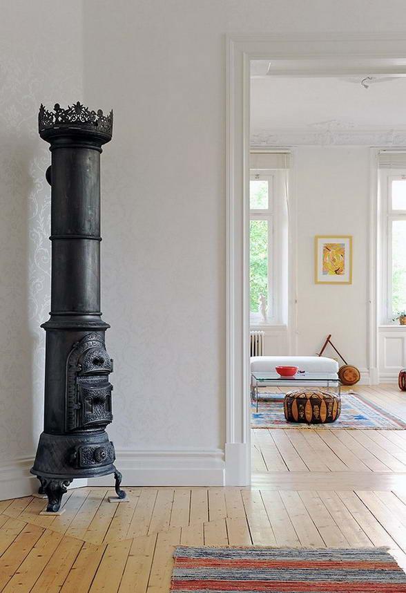 Квартира в скандинавском стиле с декоративными элементами
