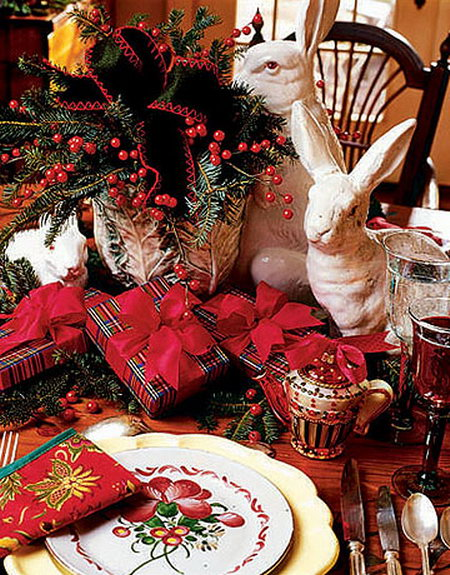 Новый год в стиле кантри - интерьер для встречи Нового года в стиле кантри.