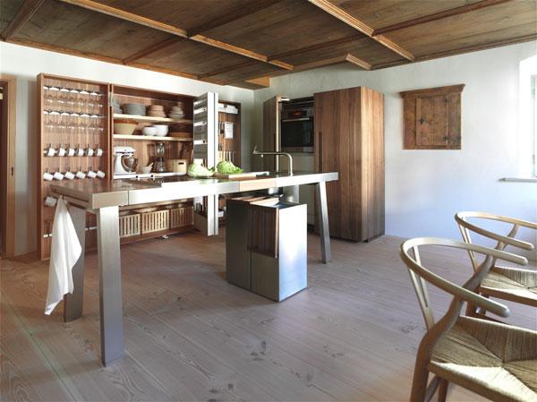 Кухня от компании Bulthaup как новая концепция интерьера.