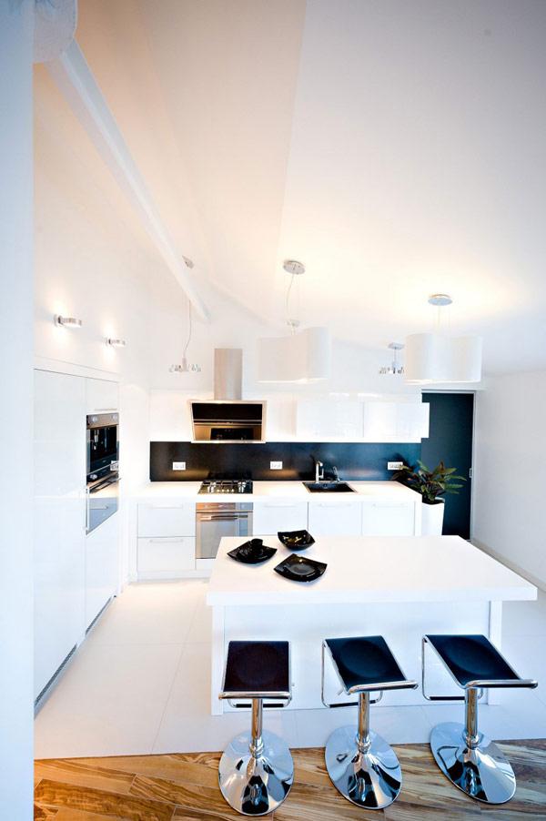Молдавские апартаменты - Современные апартаменты в стиле лофт в Кишиневе.