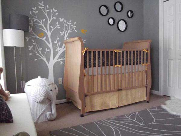 Дизайн комнаты (интерьера) для грудничков.